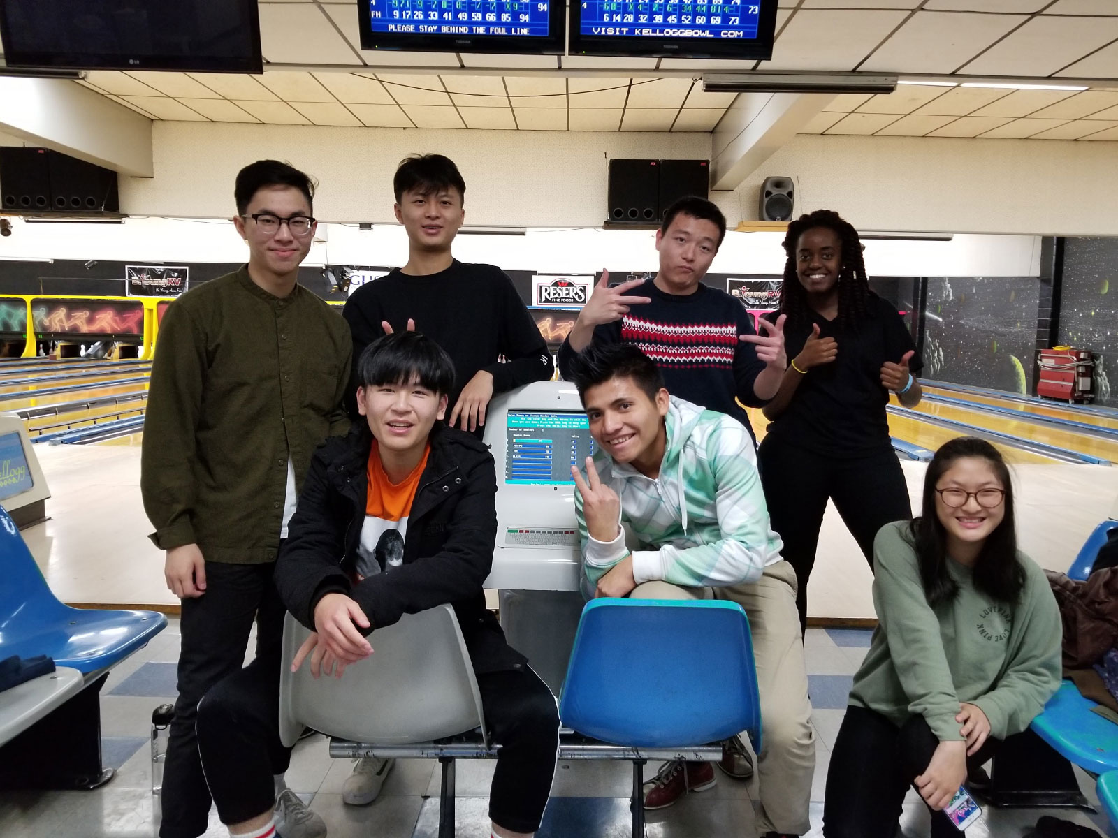 International Students Bowling Outing