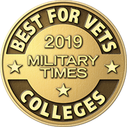 Military Times 2019 Best Colleges button