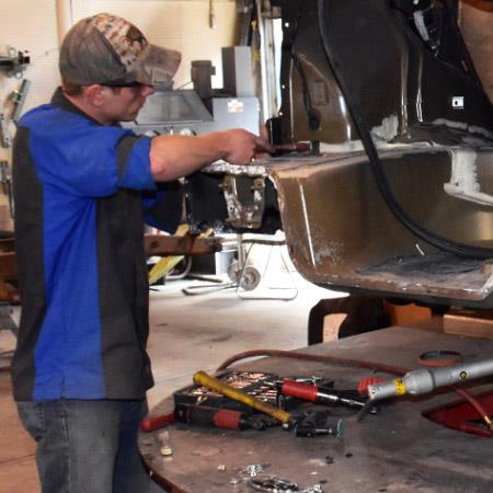 Auto Body Collision Repair and Refinishing Technology