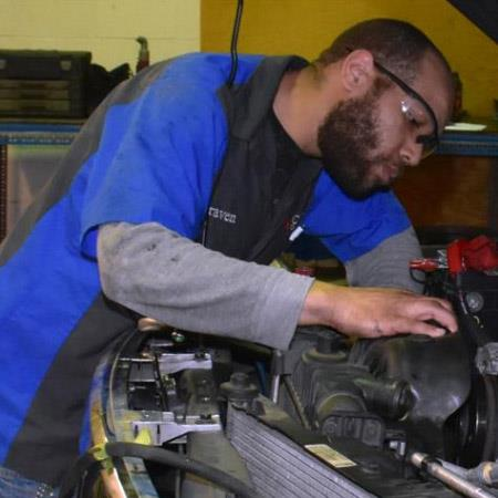 Under Car Technician Automatic Transmission