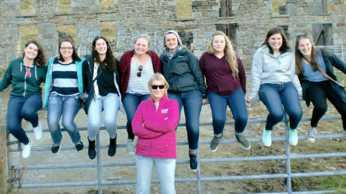 CCC Offers Ireland Study Abroad Experience