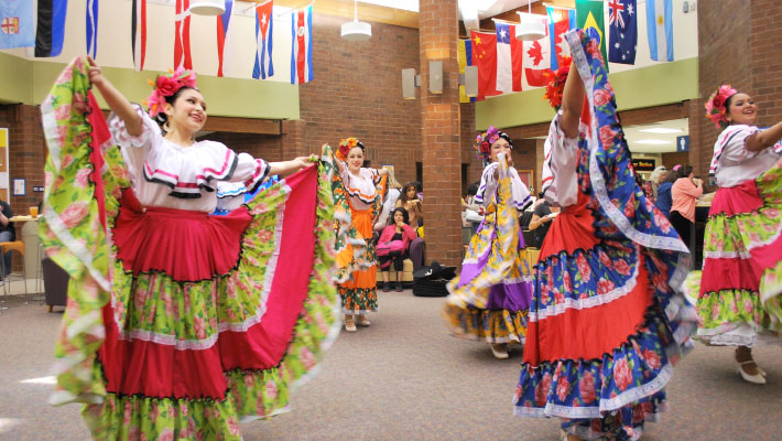 Dance Around the World at CCC International Week