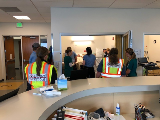 EMT and nursing simulation